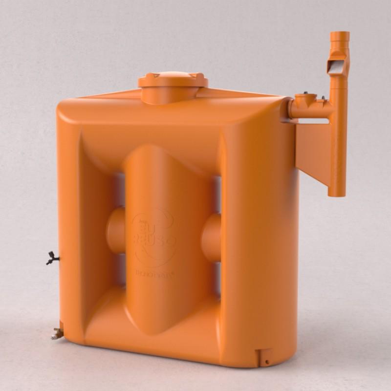 Cisterna 1000 litros com filtro