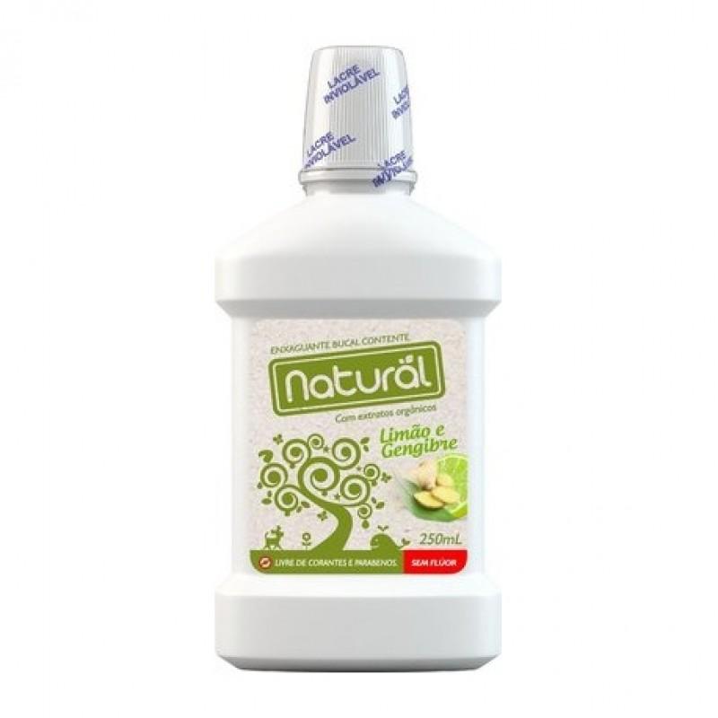 Enxaguante Bucal Natural e Vegano Contente 250ml