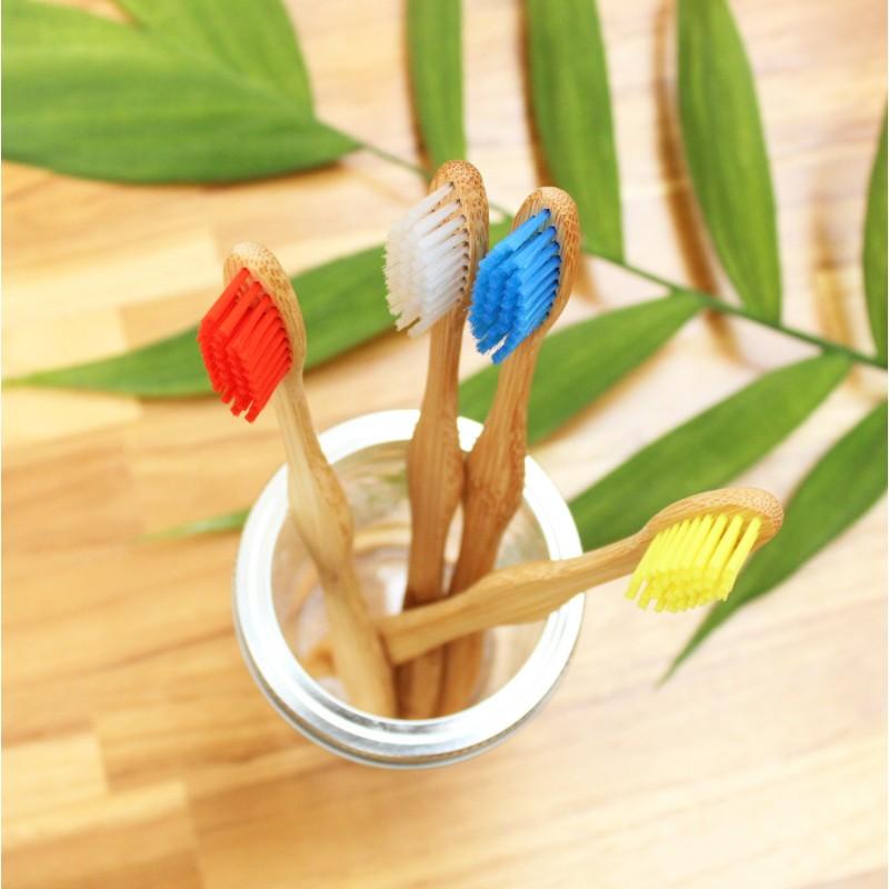 Escova de Dentes de Bambu Beegreen - Colorido