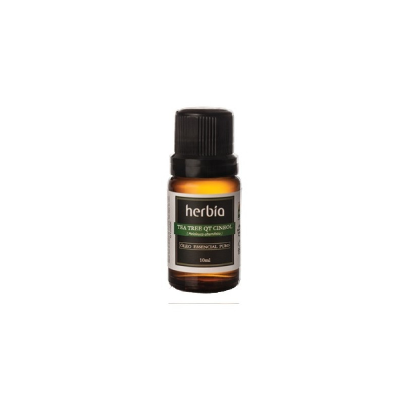 Óleo Essencial de Tea Tree QT Cineol 10 ml (Herbia)