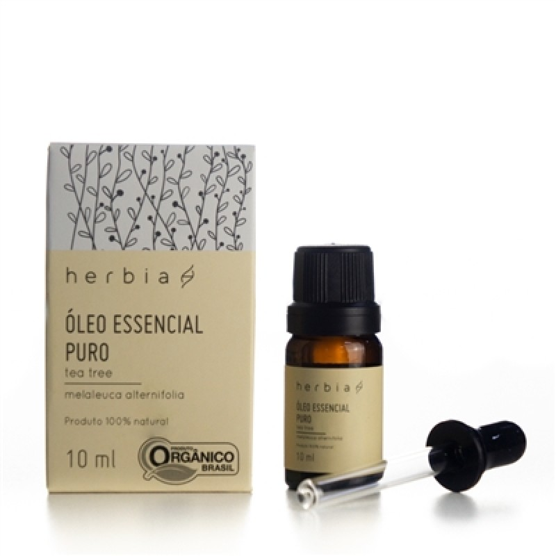 Óleo Essencial de Tea Tree 10 ml (Herbia)