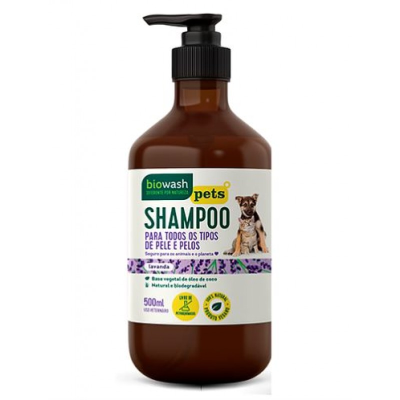 Shampoo PET Biowash - 500ml