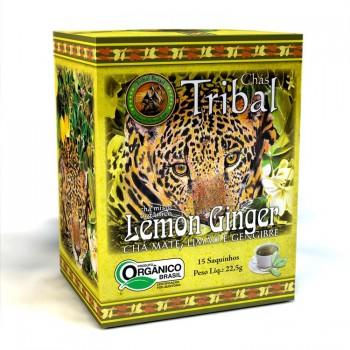 Chá Tribal Brasil - Lemon Ginger - Sachê (15 sachês)
