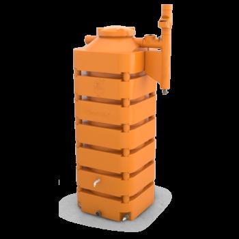 Cisterna 1050 litros com filtro