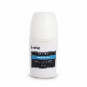 Desodorante Natural e Vegano Neutro - 50ml - Herbia