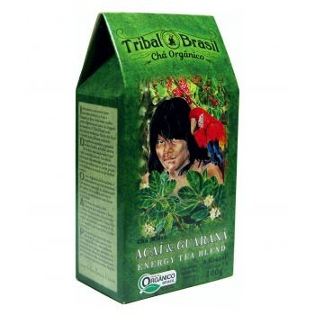 Chá Tribal Brasil - Açaí e Guaraná - 100g