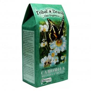 Chá Tribal Brasil - Camomila, Melissa e Menta - Caixa 70g