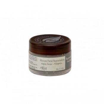 Máscara Facial Natural Vegana Arte dos Aromas Regeneradora de Argila Cinza 90g