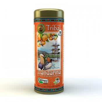 Chá Tribal Brasil - Mandarina com Especiarias - Sachê Redondo (30 sachês)